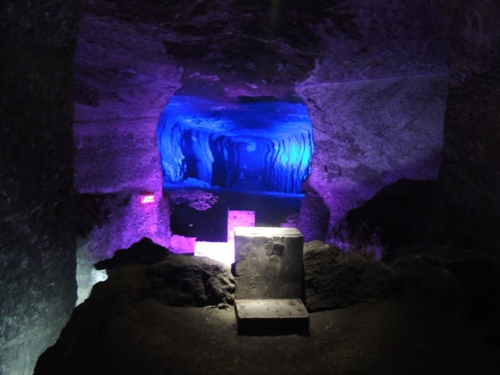 The Salt Cathedral in Zipaquira, Colombia | TheWeekendJetsetter.com