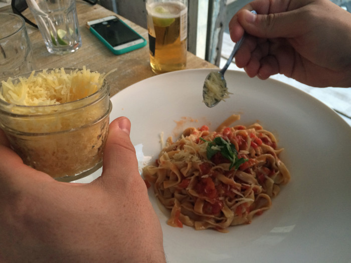 Dinner at Posada Margherita - 48 Hours in Tulum | TheWeekendJetsetter.com