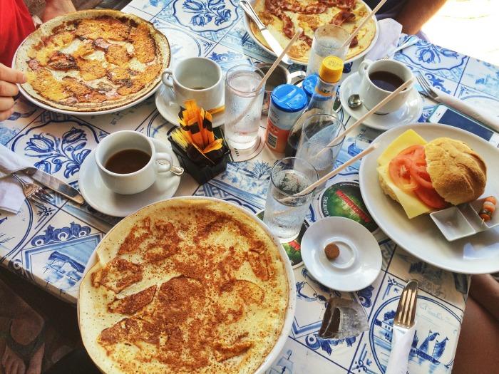 Diana's Pancake Place, Dutch Pancakes, 48 Hours in Aruba