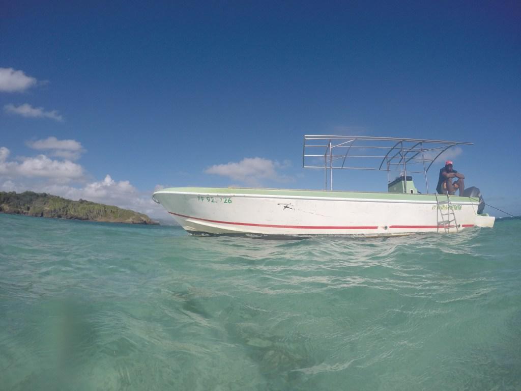 Josephine's Bathtub, Martinique