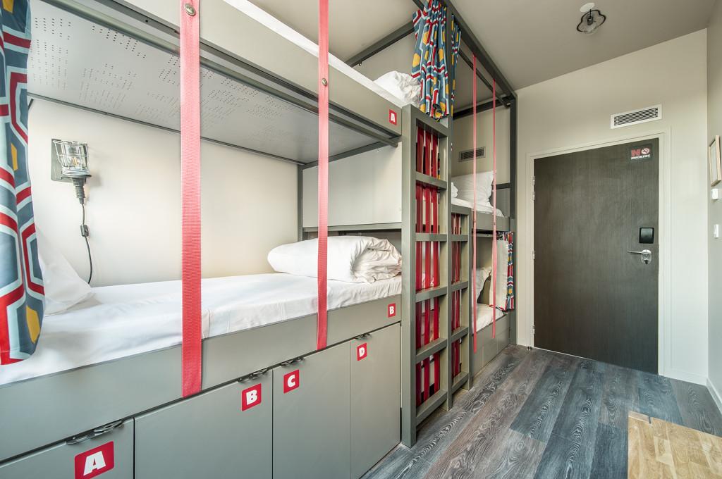 Les Piaules, Design Hostel in Paris's Belleville Neighborhood - 3 Day Paris Weekend Itinerary at TheWeekendJetsetter.com