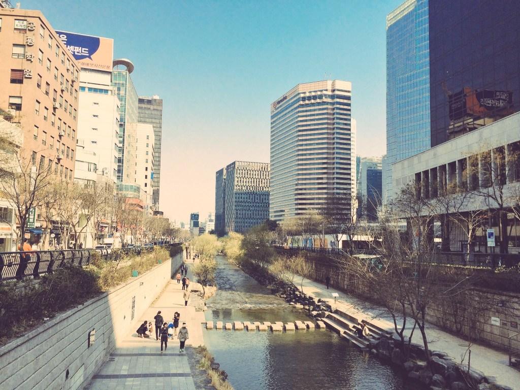 City Skyline in Seoul