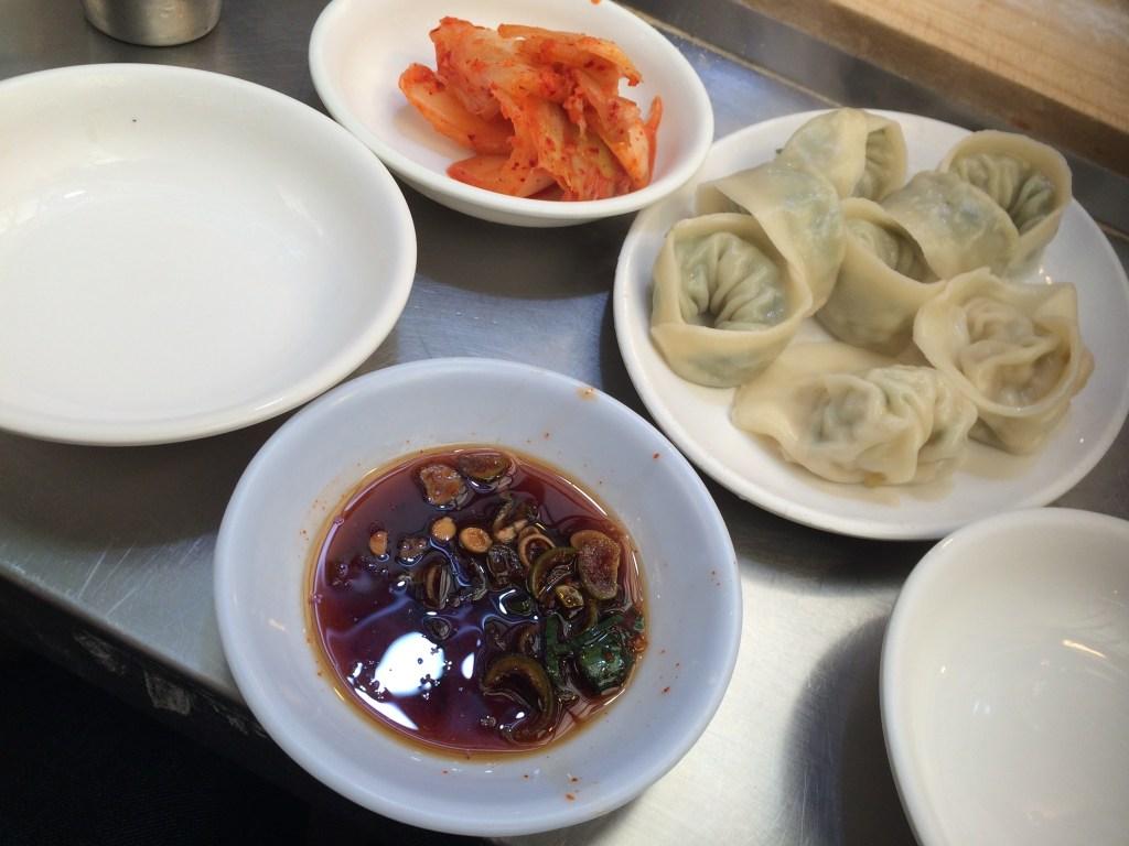 Gwangjang Market, Korean Dumplings