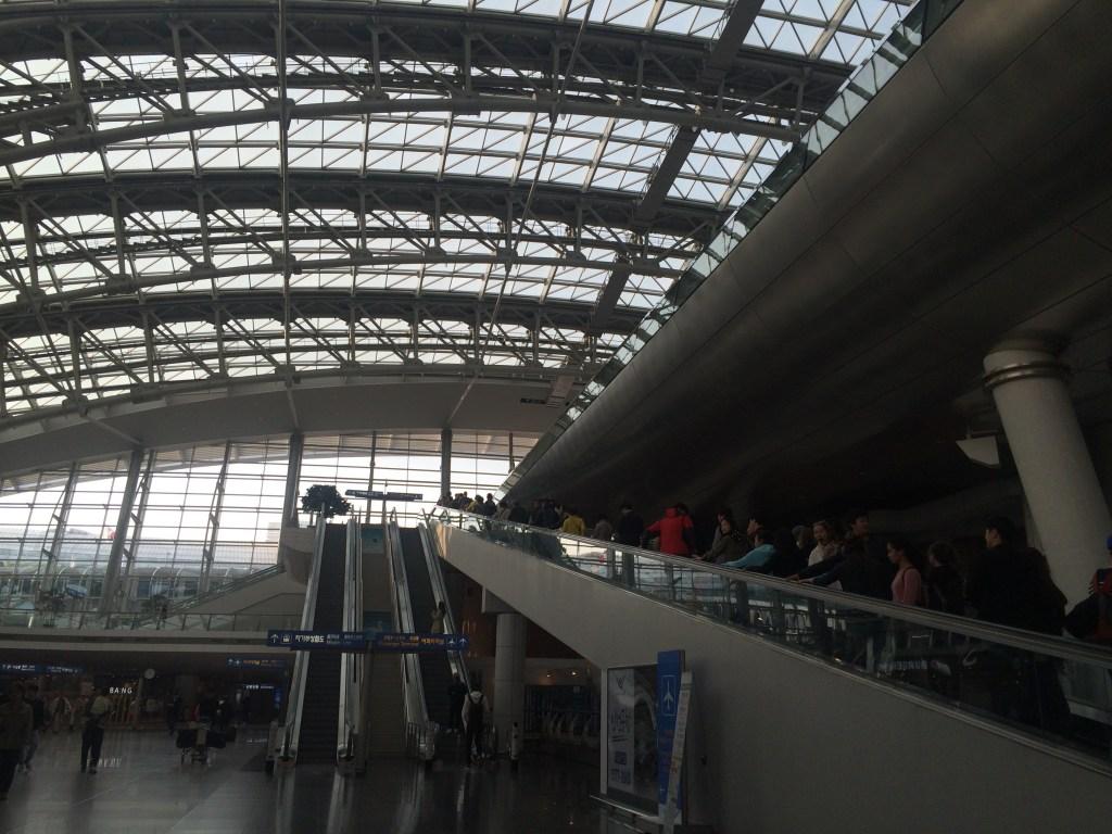 Incheon Airport Seoul Layover