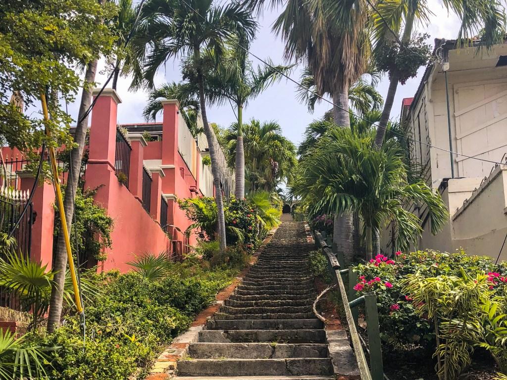 99 Steps, Charlotte Amalie | TheWeekendJetsetter.com