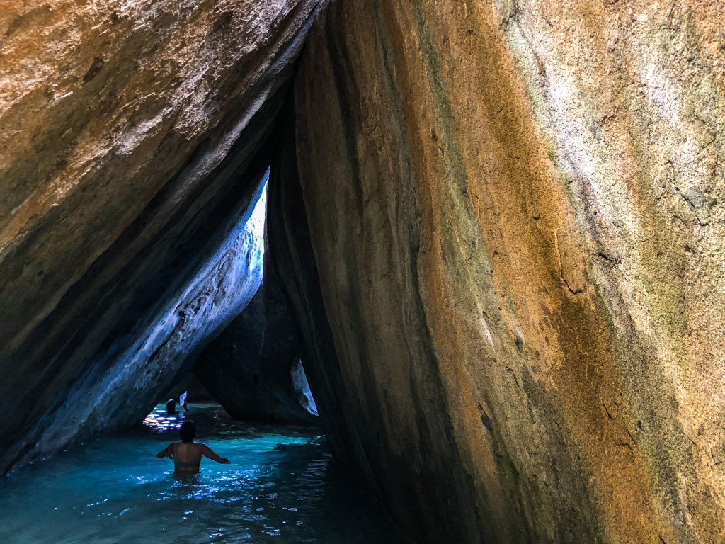 Exploring the batholithic rock formations in the BVI | TheWeekendJetsetter.com