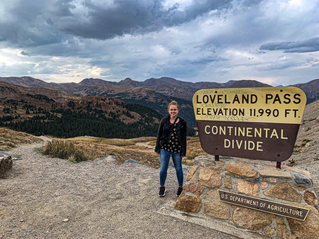 Loveland Pass, Colorado, Continental Divide