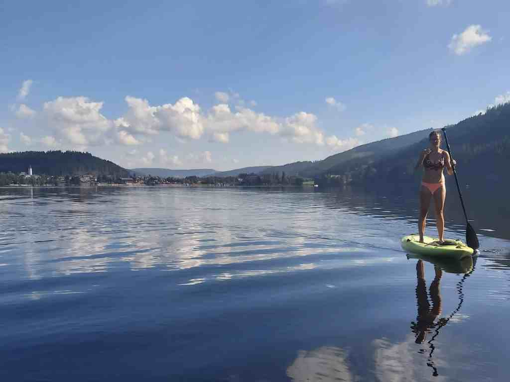 SUP on Titisee