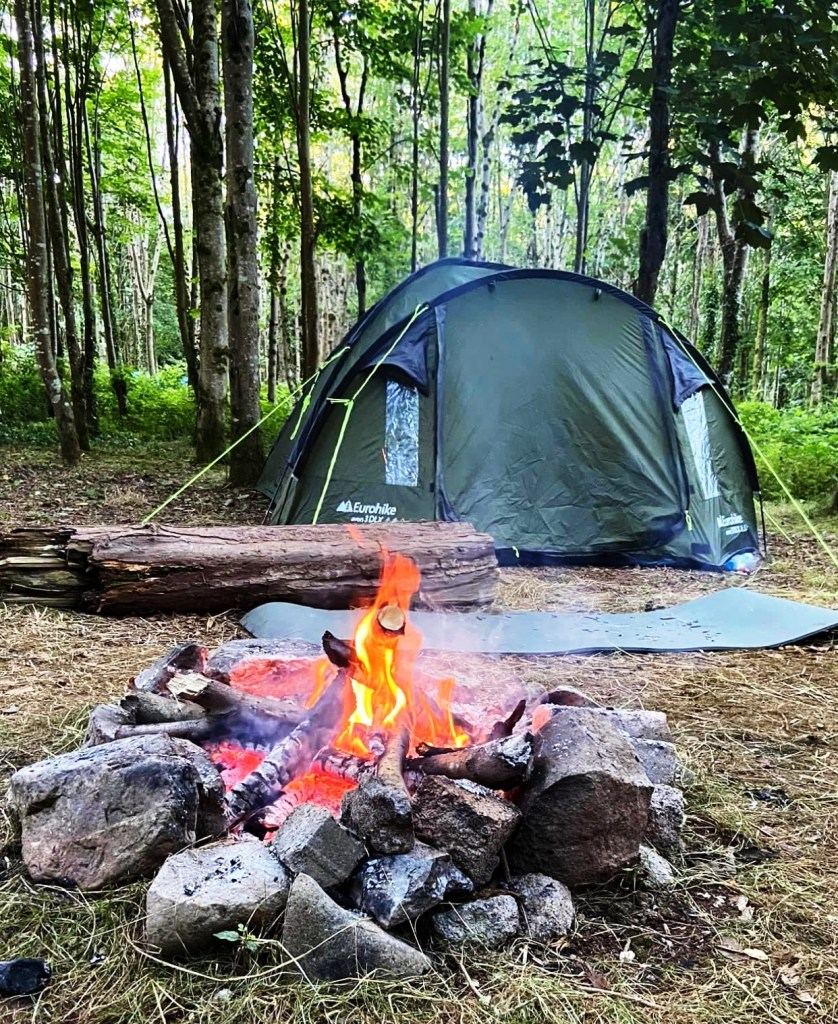 ashbourne woods campsite