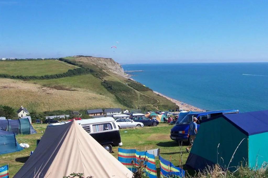 eype house campsite