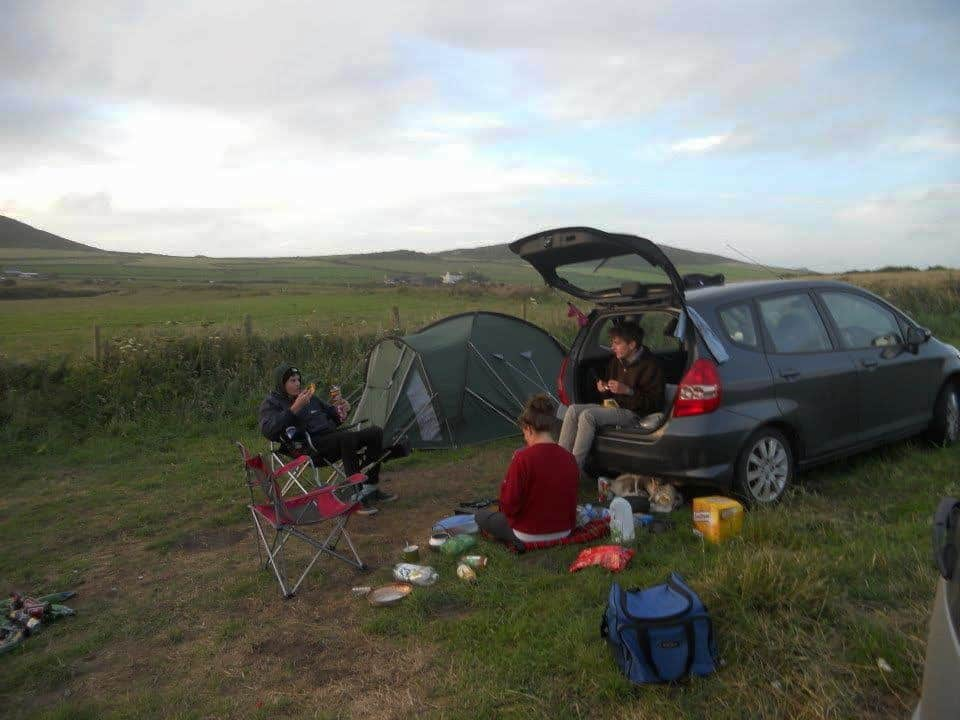 whitesands campsite allows fires