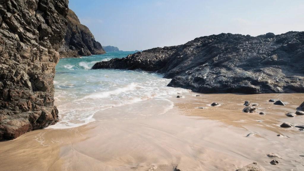 Kynance Cove in Cornwall