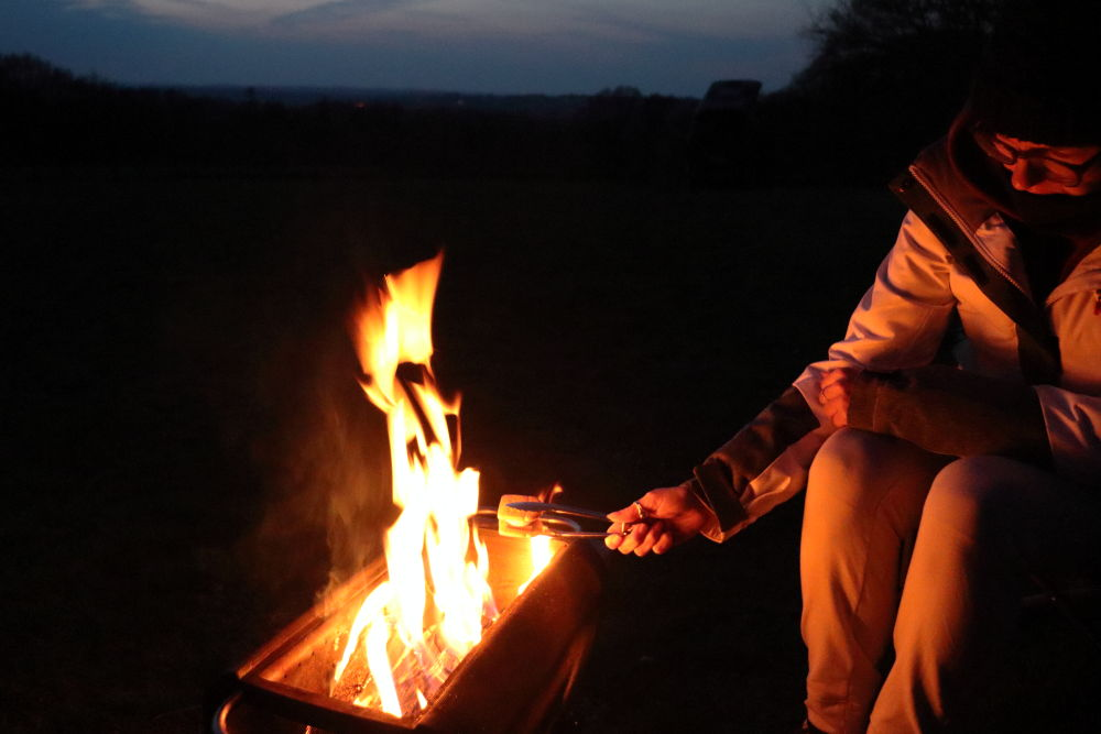 smores on biolite firepit+