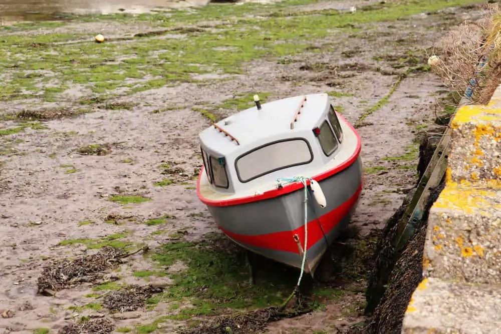 A boat at Looe