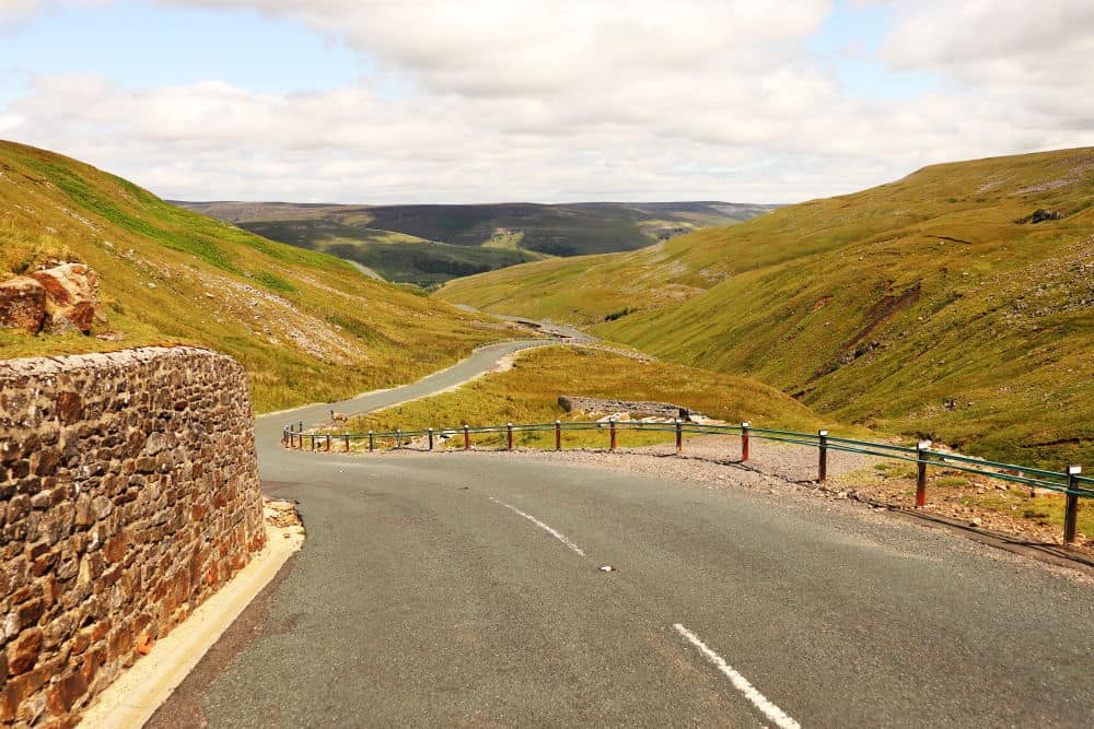 Butter Tubs pass in the Yorkshire Dales