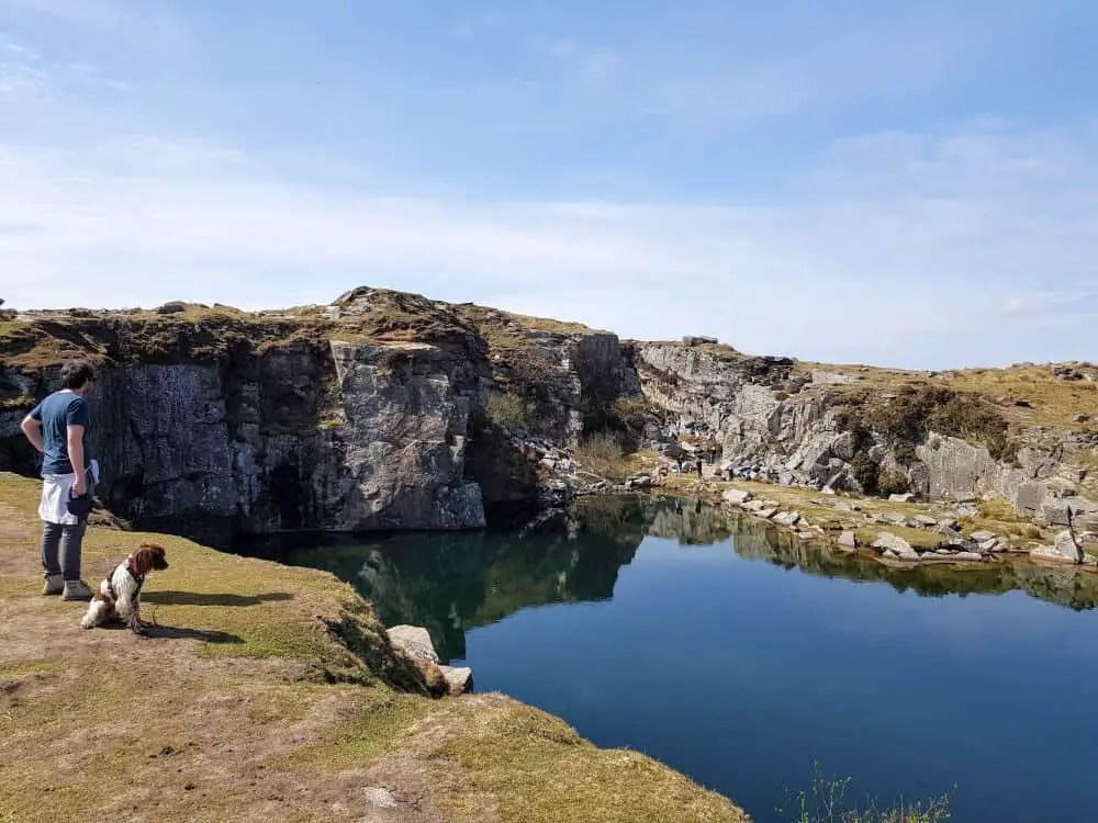 Lake at Gold Diggings Quarry