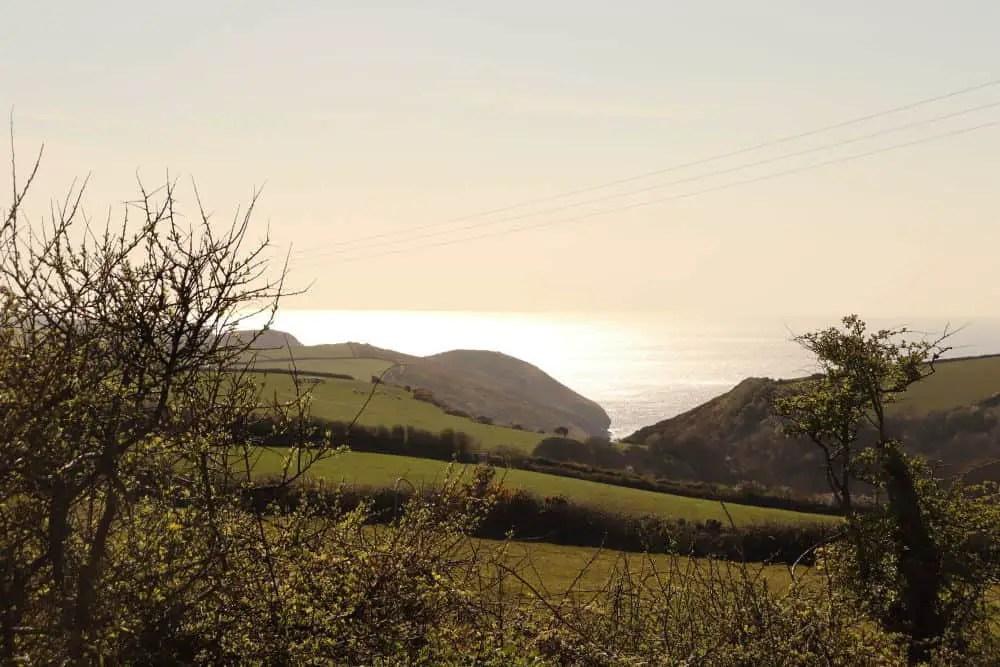 View from Trebyla Farm