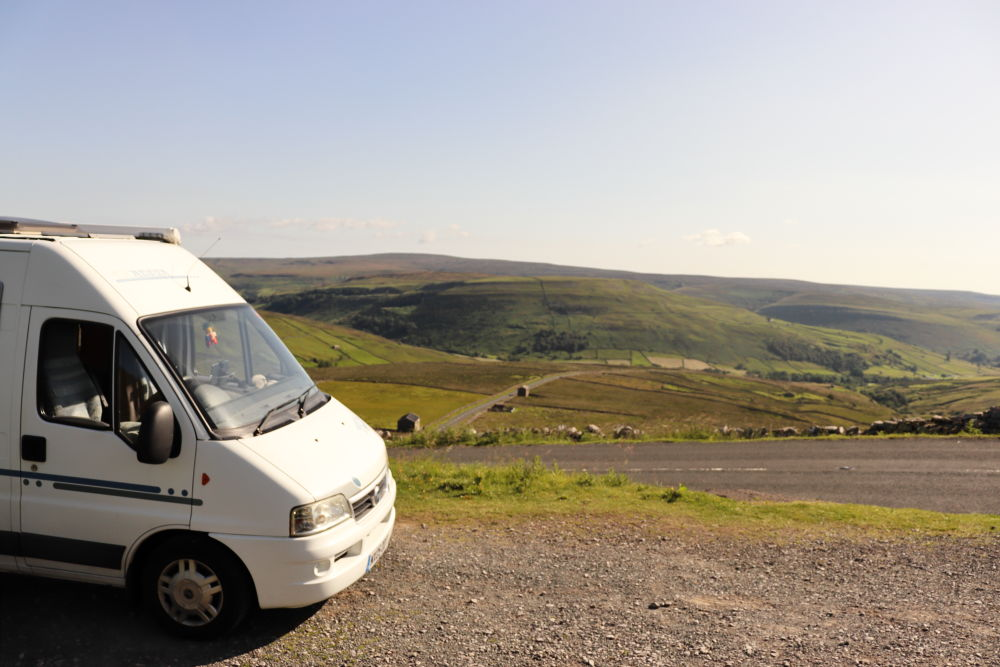 parked up in Yorkshire
