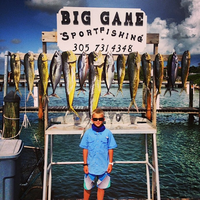 Andrew Sanger had a nice day on the water with Big Game Sportfishing, slaying a slew of schoolies.
