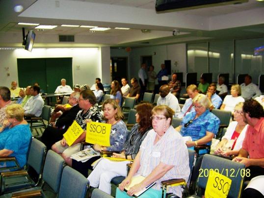 Marathon City Council Crowd