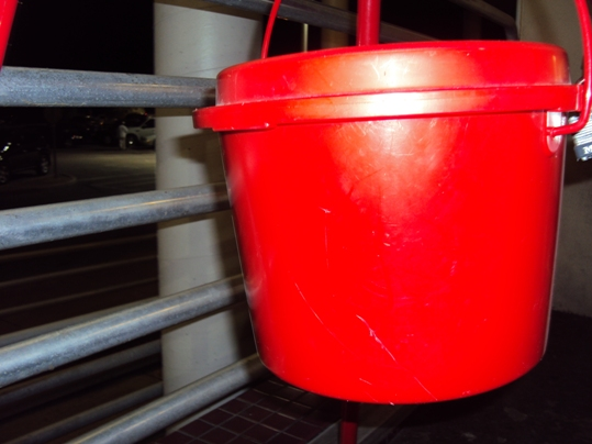 """Since its inception dating back to 1891, the red kettle campaign has evolved to be a plastic red bucket, but the premise remains unchanged. """"They, the members of the community, drop more than change,"""" observes Chobie, """"it makes you feel good"""
