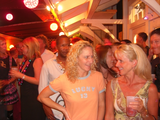 Patrons pack The Secret Spot at the Key West Art Bar