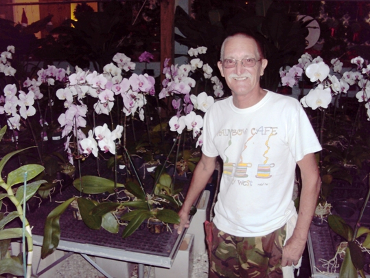 Gary Gethen the orchid man