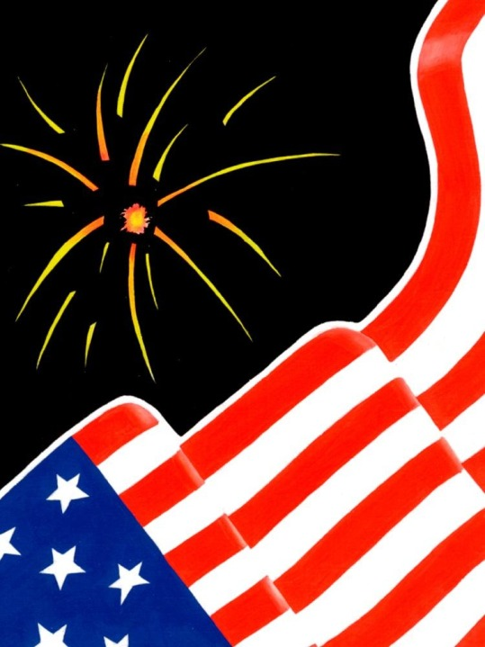 Happy Independence Day, USA!