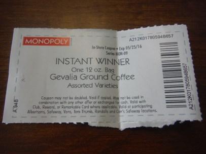 Safeway Instant Winner