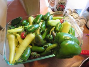 Banana and Jalapeno Peppers