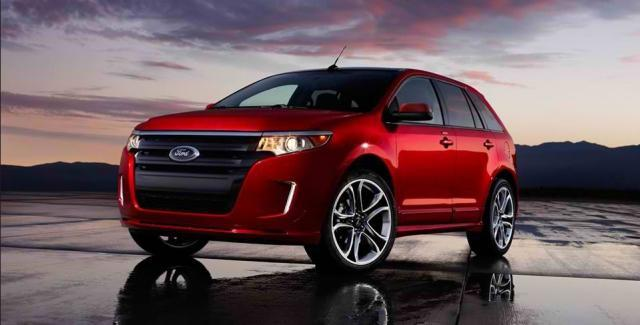 Ford Edge SE overtakes minivan dominance, tops lowest annual insurance rates 5