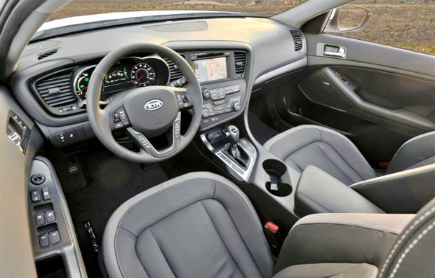 2013 Kia Optima Hybrid interior