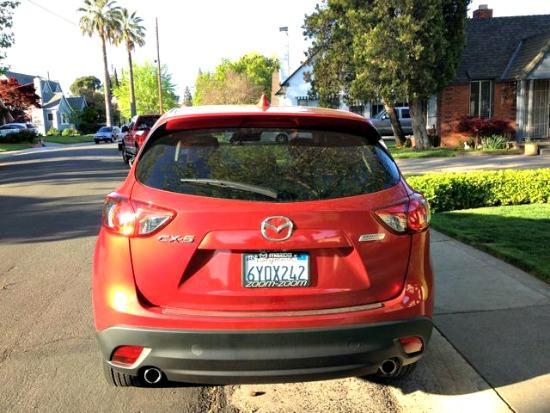 2014 Mazda CX-5 rear view