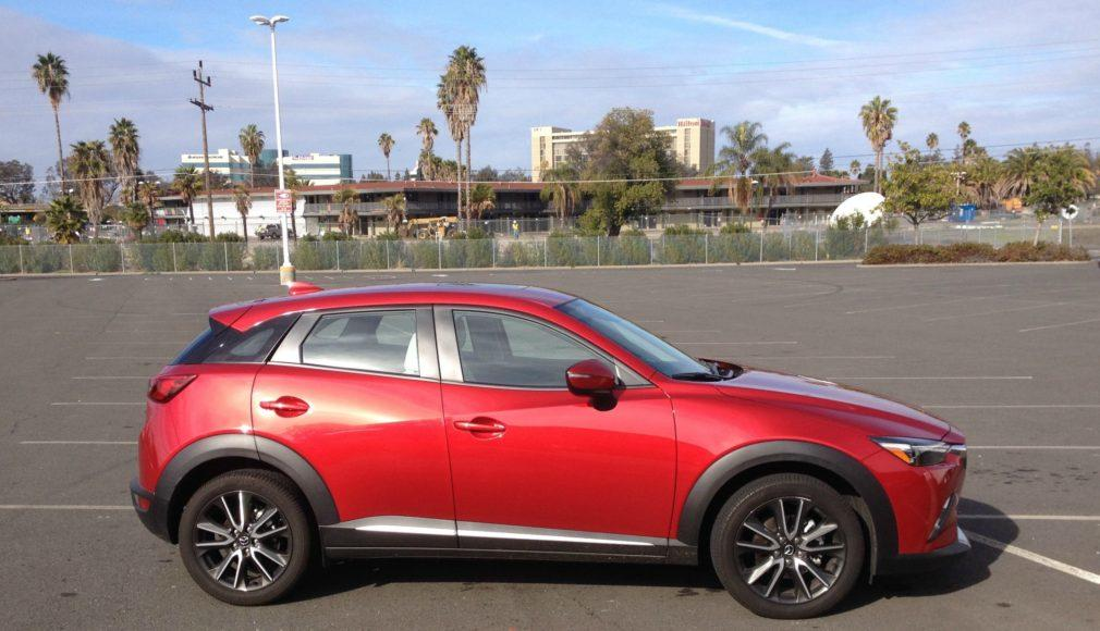 The 2016 Mazda CX-3 is a new subcompact crossover.