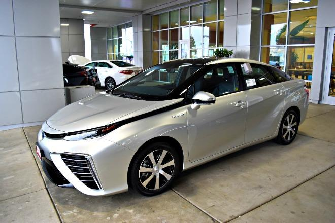 The Toyota Miria is utilizes hydrogen fuel cell technology.