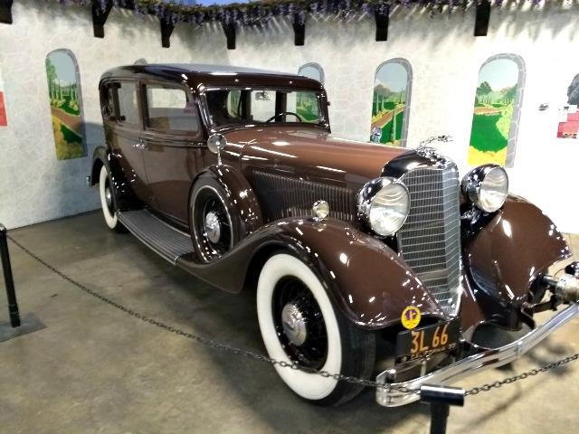 The California Automobile Museum has a varied collection of cars and trucks.
