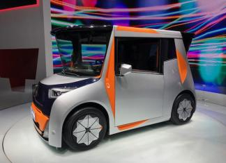 The Redspace prototype debuted at the LA Auto Show.