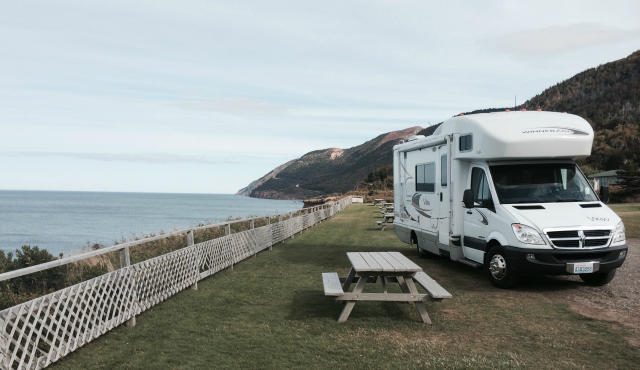 RV travel provides flexible and mobile accommodations.