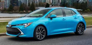 The 2019 Toyota Corolla hatchback has sports car tendencies.