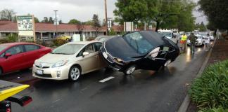 A crash captured by tow truck driver Ray Elliott, publisher of www.idiotsontheinterstate.com.