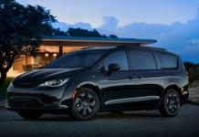 2019 Chrysler Pacifica Hybrid with S Appearance Package.