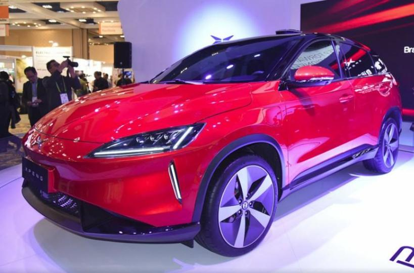 The Chinese electric car XPENG was part of the recent GPU Conference in San Jose.