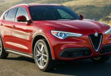 The 2018 Alfa Romeo Stelvio has 505 horsepower.