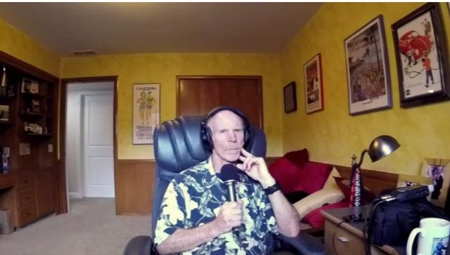 Bruce Aldrich hosting video #14 from The Weekly Driver Podcat
