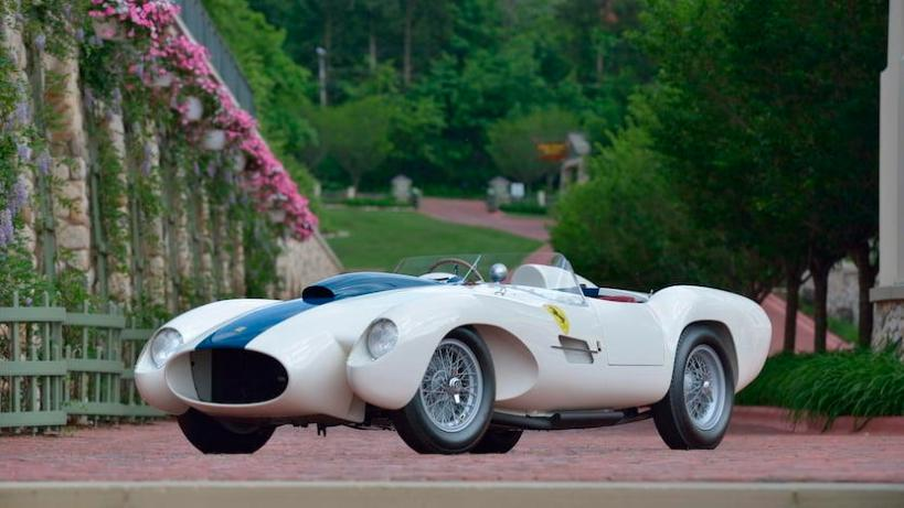 A 1954/1959 Ferrari 0432M from the collection of Dana Patti Mecum will be auctioned during Mecum Auctions' three-day auction during Monterey Auto Week.