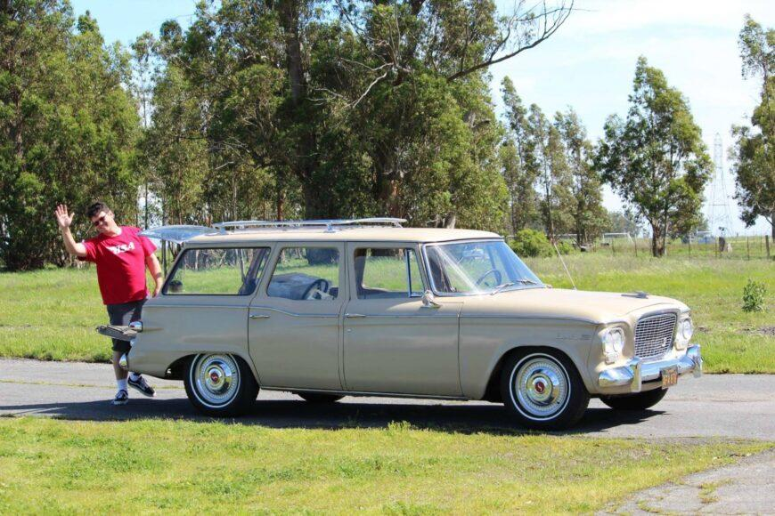 Dean Seavers of Sacramento owns a 1961 Studebaker Mark VIII.