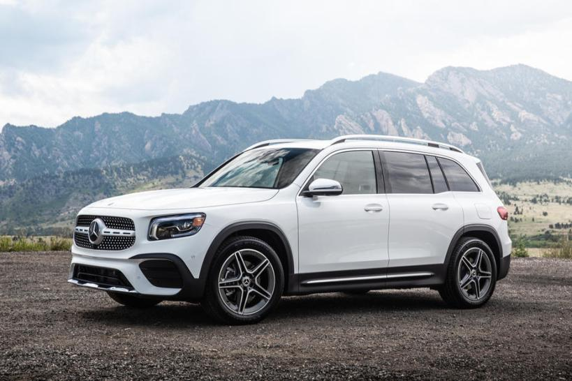 The 2020 Mercedes-Benz GLB is a new compact, powerful SUV.