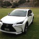 The sporty, small Lexus SUV is new for 2015.