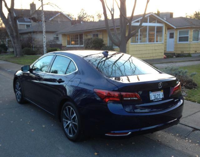 2015 Acura TLX: New luxury sedan battles icons