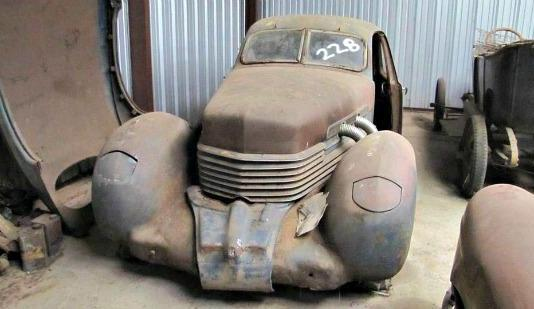 One of two Cords available in the pending auction of nearly 250 cars and truck in Oklahoma.